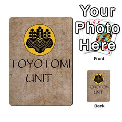 Seven Spears Basic Toyotomi By T Van Der Burgt   Multi Purpose Cards (rectangle)   Oql8jnso4wmm   Www Artscow Com Back 52