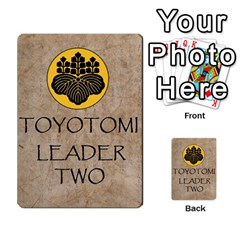 Seven Spears Basic Toyotomi By T Van Der Burgt   Multi Purpose Cards (rectangle)   Oql8jnso4wmm   Www Artscow Com Back 45