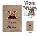 seven spears southern Daimyo set - Multi-purpose Cards (Rectangle)