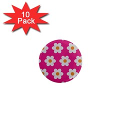 Daisies 1  Mini Button Magnet (10 Pack) by SkylineDesigns