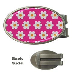 Daisies Money Clip (oval) by SkylineDesigns