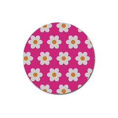 Daisies Magnet 3  (round) by SkylineDesigns