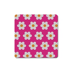 Daisies Magnet (square) by SkylineDesigns