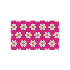 Daisies Magnet (name Card) by SkylineDesigns