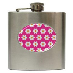 Daisies Hip Flask by SkylineDesigns