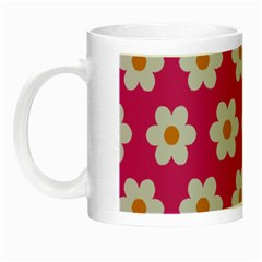 Daisies Glow In The Dark Mug by SkylineDesigns