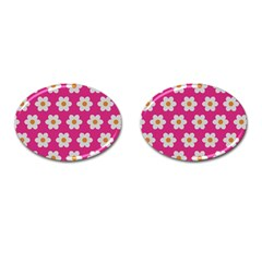Daisies Cufflinks (oval) by SkylineDesigns