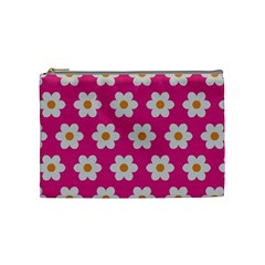 Daisies Cosmetic Bag (medium) by SkylineDesigns