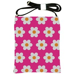Daisies Shoulder Sling Bag by SkylineDesigns