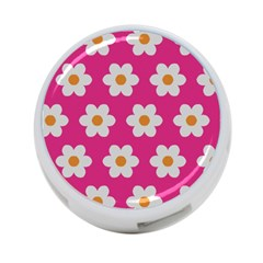 Daisies 4 Port Usb Hub (two Sides) by SkylineDesigns