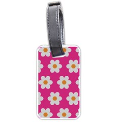 Daisies Luggage Tag (one Side) by SkylineDesigns