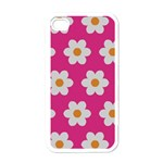 Daisies Apple iPhone 4 Case (White) Front