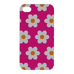 Daisies Apple Iphone 4/4s Premium Hardshell Case by SkylineDesigns