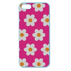 Daisies Apple Seamless Iphone 5 Case (color) by SkylineDesigns