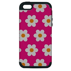 Daisies Apple Iphone 5 Hardshell Case (pc+silicone) by SkylineDesigns