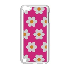 Daisies Apple iPod Touch 5 Case (White) by SkylineDesigns