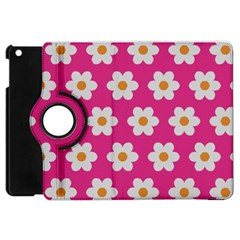 Daisies Apple Ipad Mini Flip 360 Case by SkylineDesigns