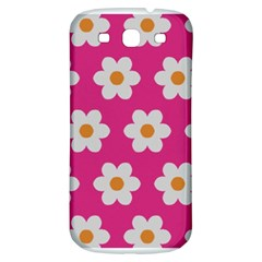 Daisies Samsung Galaxy S3 S Iii Classic Hardshell Back Case by SkylineDesigns