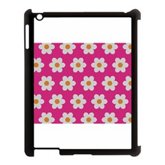 Daisies Apple Ipad 3/4 Case (black) by SkylineDesigns