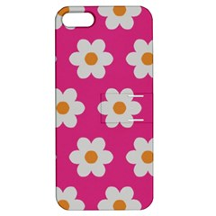 Daisies Apple Iphone 5 Hardshell Case With Stand by SkylineDesigns