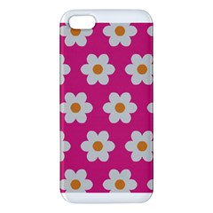Daisies Apple Iphone 5 Premium Hardshell Case by SkylineDesigns