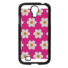 Daisies Samsung Galaxy S4 I9500/ I9505 Case (black) by SkylineDesigns