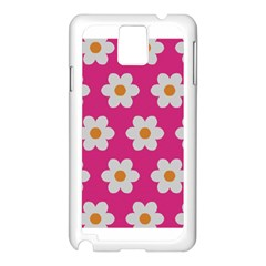 Daisies Samsung Galaxy Note 3 N9005 Case (white) by SkylineDesigns