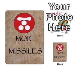 Seven Spears Monks And Daimyos By T Van Der Burgt   Multi Purpose Cards (rectangle)   8d8sc85jjjk0   Www Artscow Com Back 2