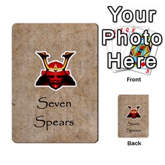 Seven Spears Monks And Daimyos By T Van Der Burgt   Multi Purpose Cards (rectangle)   8d8sc85jjjk0   Www Artscow Com Front 49