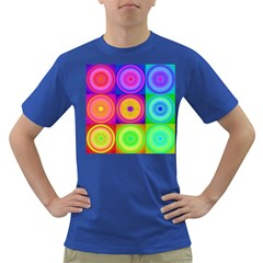 Retro Circles Men s T Shirt (colored) by SaraThePixelPixie