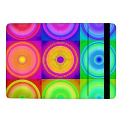 Retro Circles Samsung Galaxy Tab Pro 10 1  Flip Case by SaraThePixelPixie