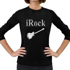 Irock Women s Long Sleeve T Shirt (dark Colored) by SaraThePixelPixie
