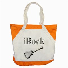iRock Accent Tote Bag by SaraThePixelPixie