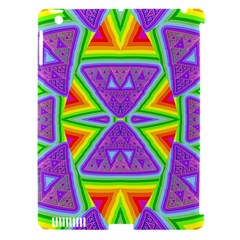 Trippy Rainbow Triangles Apple Ipad 3/4 Hardshell Case (compatible With Smart Cover)