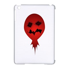 Evil Face Vector Illustration Apple Ipad Mini Hardshell Case (compatible With Smart Cover) by dflcprints