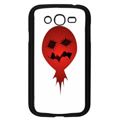 Evil Face Vector Illustration Samsung Galaxy Grand Duos I9082 Case (black)