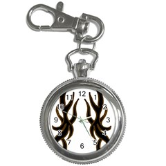 Dancing Fire Key Chain Watch by coolcow
