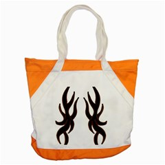 Dancing Fire Accent Tote Bag by coolcow