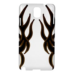 Dancing Fire Samsung Galaxy Note 3 N9005 Hardshell Case by coolcow