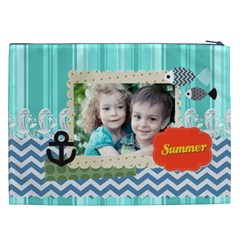 Summer By Summer Time    Cosmetic Bag (xxl)   Hnjnl1mqtkfz   Www Artscow Com Back