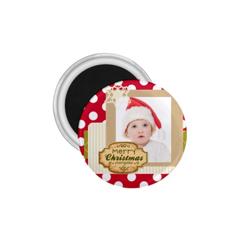 Merry Christmas, Xmas, Happy,  Event By Betty   1 75  Magnet   T4pvvj2xz4si   Www Artscow Com Front
