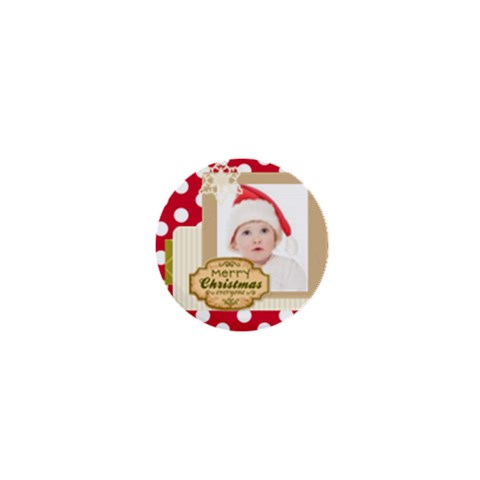 Merry Christmas By Betty   1  Mini Magnet   Xr3l9e1yimqu   Www Artscow Com Front