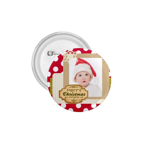 Merry Christmas By Betty   1 75  Button   269uikmlapog   Www Artscow Com Front