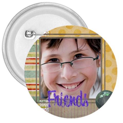 Kids By Kids   3  Button   Lp0jtkgu5dk2   Www Artscow Com Front