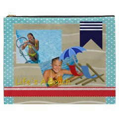 Summer By Summer Time    Cosmetic Bag (xxxl)   Gmkhcszdh00s   Www Artscow Com Front