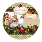 merry christmas - CD Wall Clock