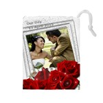 Wedding Drawstring Pouch (large)
