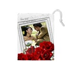 Wedding Drawstring Pouch (medium)