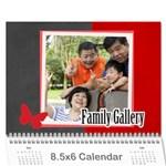 family - Wall Calendar 8.5  x 6