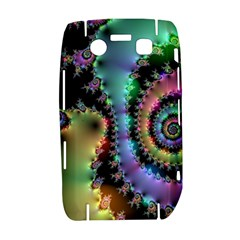 Satin Rainbow, Spiral Curves Through the Cosmos BlackBerry Bold 9700 Hardshell Case  by DianeClancy